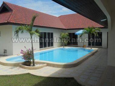Large house with private pool - House - Pattaya East - East Pattaya